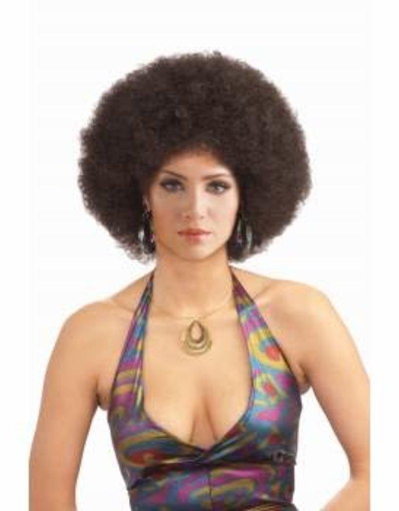 Forum Novelties Deluxe Afro Wig- Brown