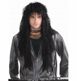 Forum Novelties Hard Rocker Wig - Black