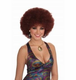 Forum Novelties Dicso Doll Afro Wig - Red