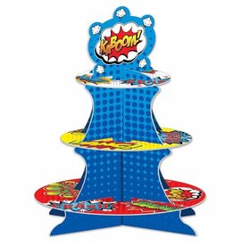HERO CUPCAKE STAND ASSEMBLY REQ 1/PKG