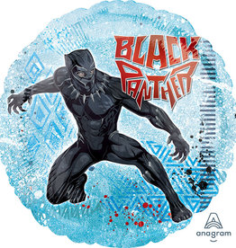 "Qualatex Black Panther 18"""