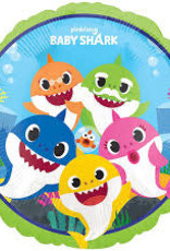 "Qualatex Baby Shark 18"""