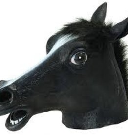 HORSE MASK - Black
