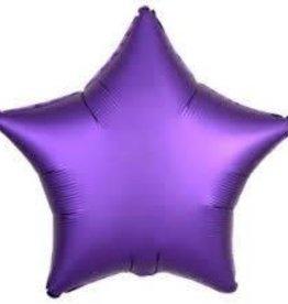 "Chrome Purple Foil Star-19"""