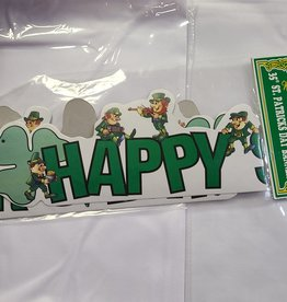 """St. Patrick's Day Banner 35"""""""