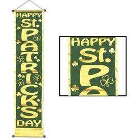 HAPPY ST PATRICKS DAY DOOR PANEL