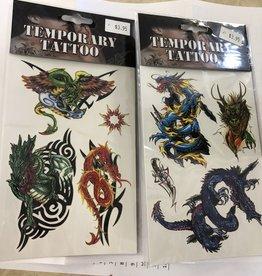 Dragon Tattoos Assorted