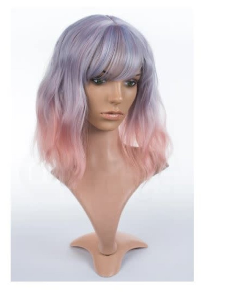 Arda Wigs Kelly Classic - Purple/Pink Blend