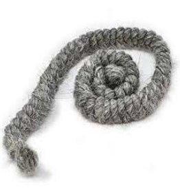 Crepe Hair - Dark Gray (1 Metre)