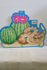 Snake and Cactus cutout