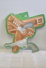 Sheriff holster cutout