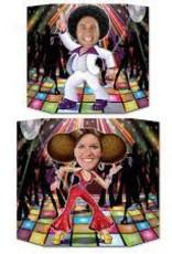 Beistle Disco Couple Photo Prop