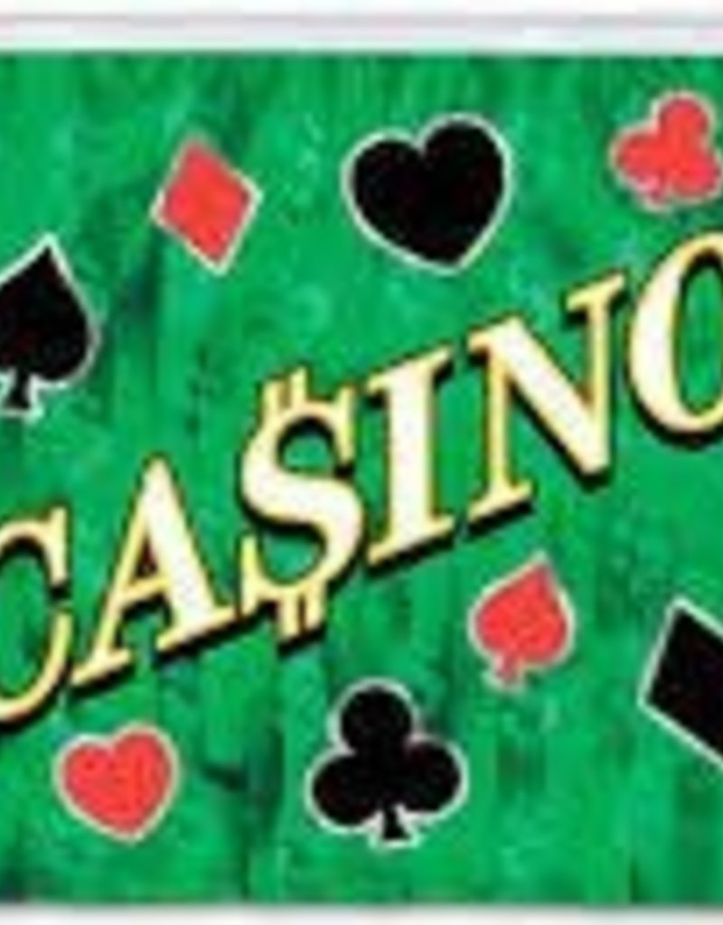 Green Casino Fringe Banner