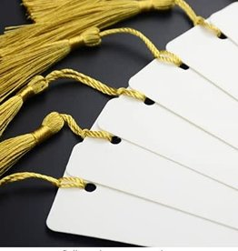 Personalized Book Mark - tag with tassel