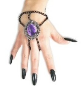 Wrist Chain With Medallion