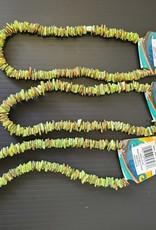 Puka Shell Necklace - JADE GREEN