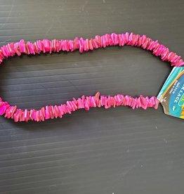 Puka Shell Necklace - PINK
