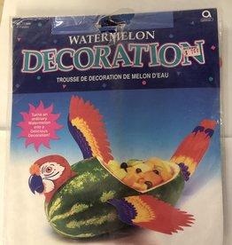 Parrot Watermelon Decoration Kit