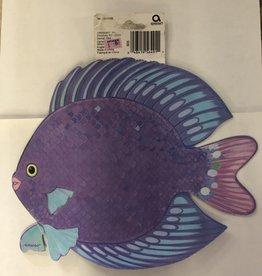 TROPICAL FISH CUT OUT HANGER