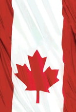 Canada Day Waving Flag Table Cover