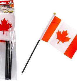 """4""""x6"""" Canadian Flag - 4 Pack"""