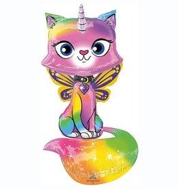 Rainbow BUTTERFLY UNICORN KITTY AIRWALKER