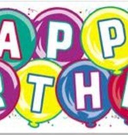HAPPY BIRTHDAY JUMBO SIGN BANNER