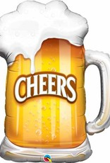 "CHEERS! BEER MUG 35"" SHAPE"