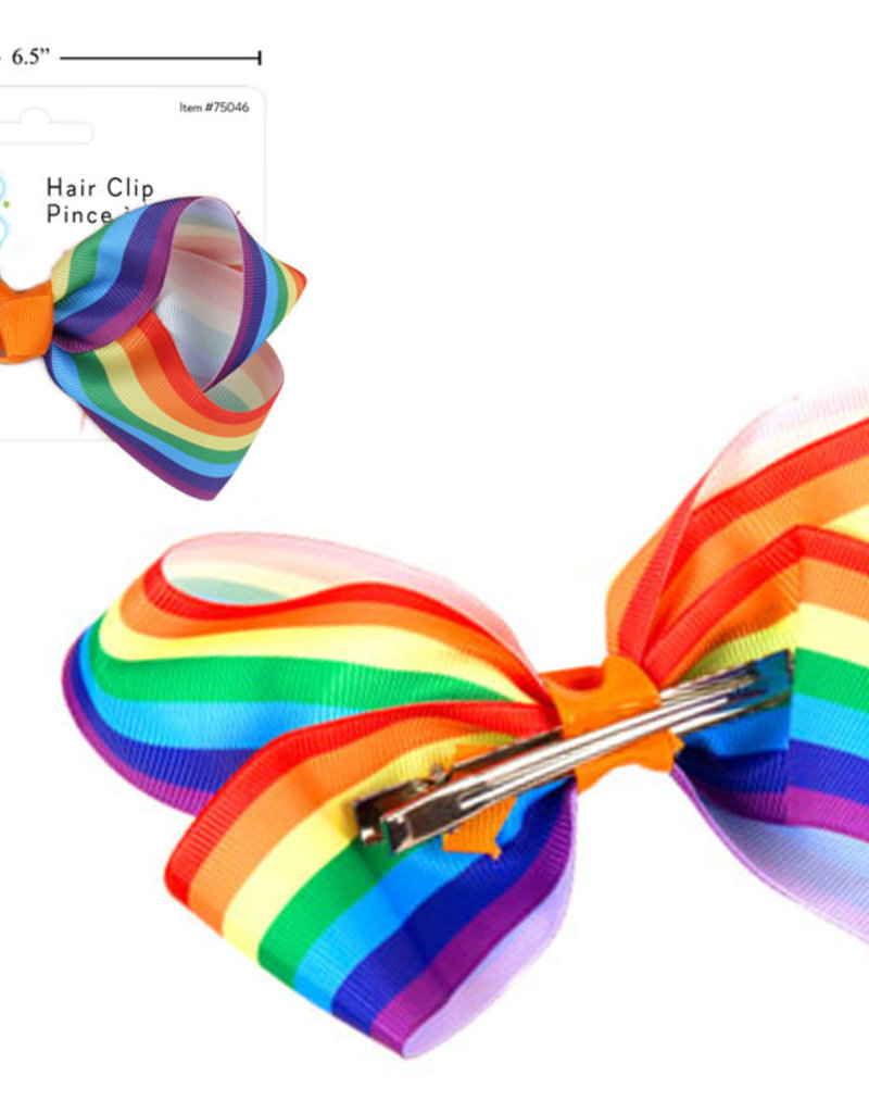 Celebrate Pride Rainbow Hair Clip (1pk)