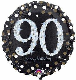 "Sparkling 90th B-Day 18"""