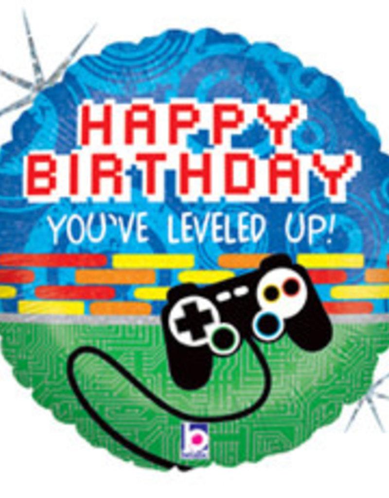 """You've Leveled Up Birthday 18"""""""