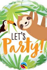 """Sloth and Toucan Let's Party 18"""""""