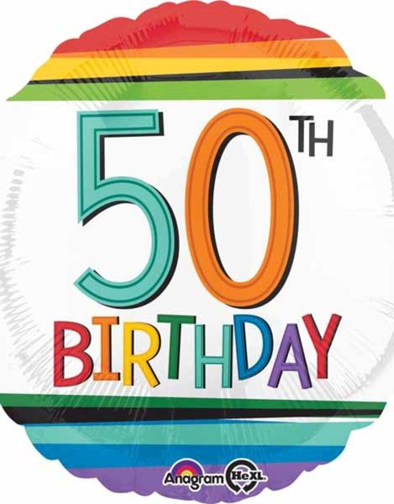 """Rainbow 50th B-Day 18"""""""