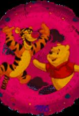 "Qualatex Winnie The Pooh Baby 18""-Pink flat"