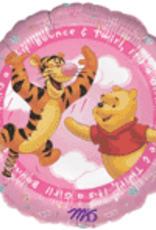 "Qualatex Winnie The Pooh Baby 18""-Pink"