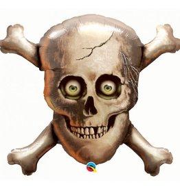 Qualatex Skull and Bones SuperShape