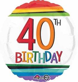"""Rainbow 40th B-Day 18"""""""
