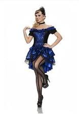 Dance Hall Queen - Blue - XXL