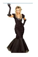 Black Starlet Dress - M