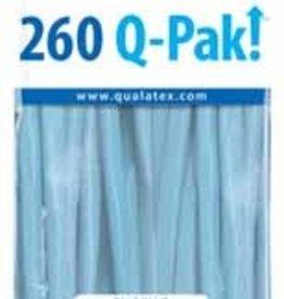 Qualatex 260Q Q-Pak Pale Blue - 50ct
