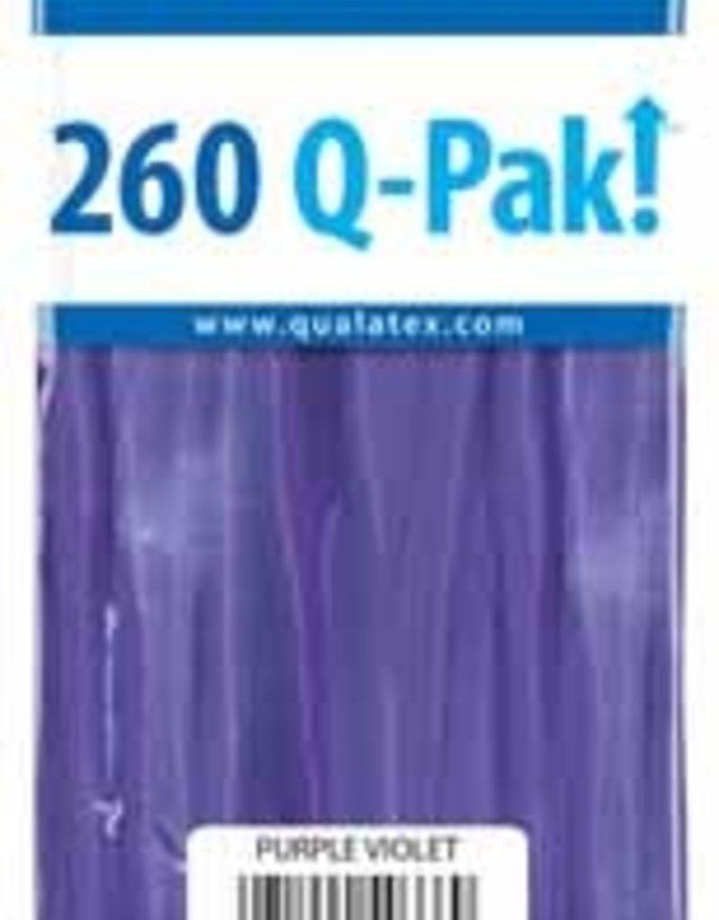 Qualatex 260Q Q-Pak Purple Violet - 50ct