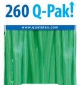 Qualatex 260Q Q-Pak Spring Green - 50ct