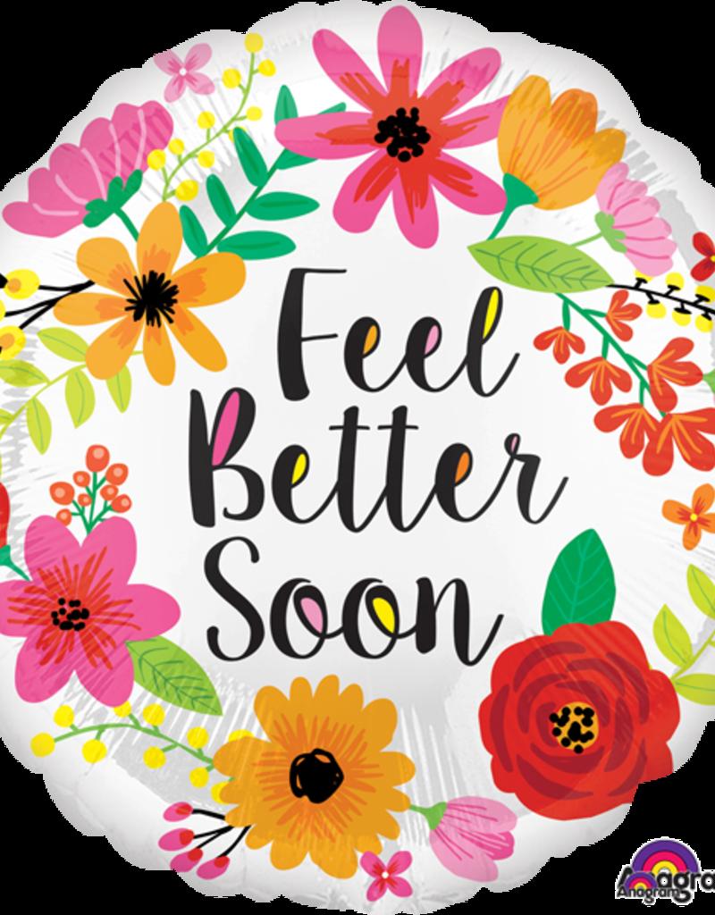 """18"""" Feel Better Floral"""