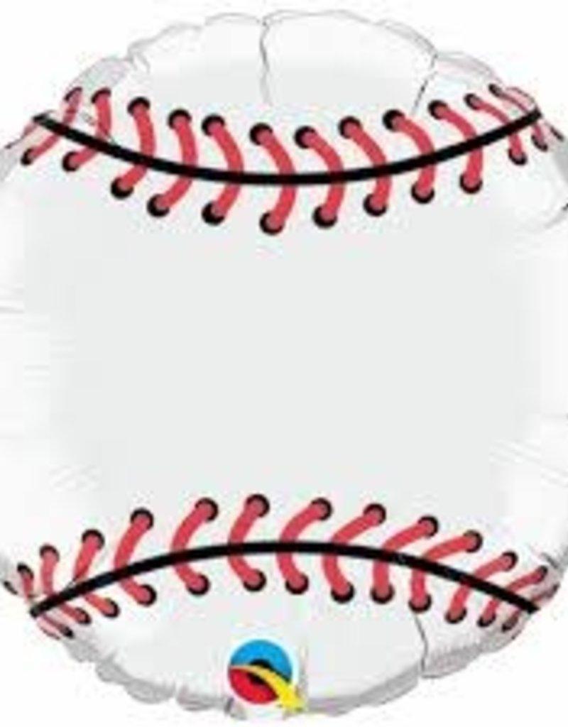 """Qualatex 18"""" BASEBALL (FLAT)"""