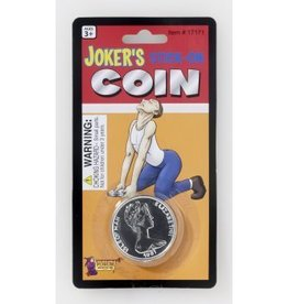 Forum Novelties COIN STUCK ON FLOOR JOKE