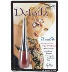 Detailz Liquid Makeup Red