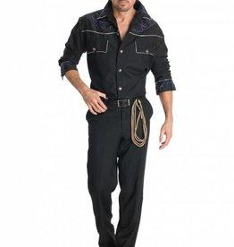 COWBOY SHIRT & HAT - Standard -
