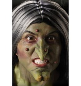 THEATRICAL EFFECTS WITCH CHIN AND NOSE
