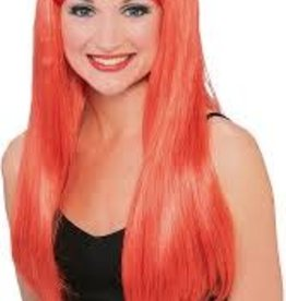 Rubies Costumes GLAMOUR WIG RED