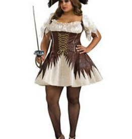 Secret Wishes BUCCANEER PIRATE - Plus Size